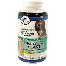 Brewers Yeast Garlic Cat Dog Supplement