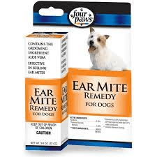 Ear Mite Treatment Dog