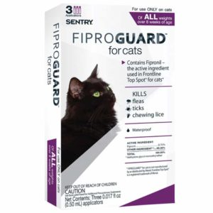 sentry fiproguard for cats and kittens