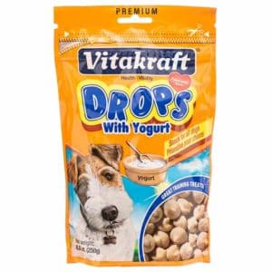 VitaKraft Yogurt Drop Dog Training Treats
