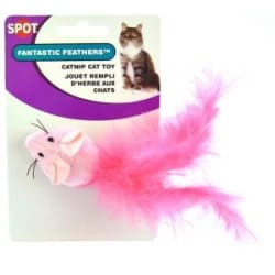 Fantastc Feathers Mouse Catnip Cat Toy