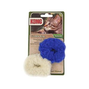 Kong Cat Naturals Crinkle Ring