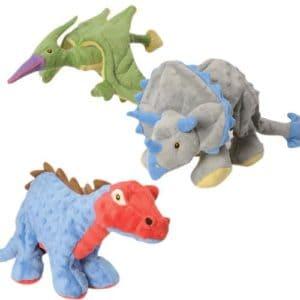 goDog Dinos Dog Toys