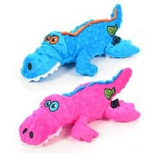 goDog Gators Dog Toy