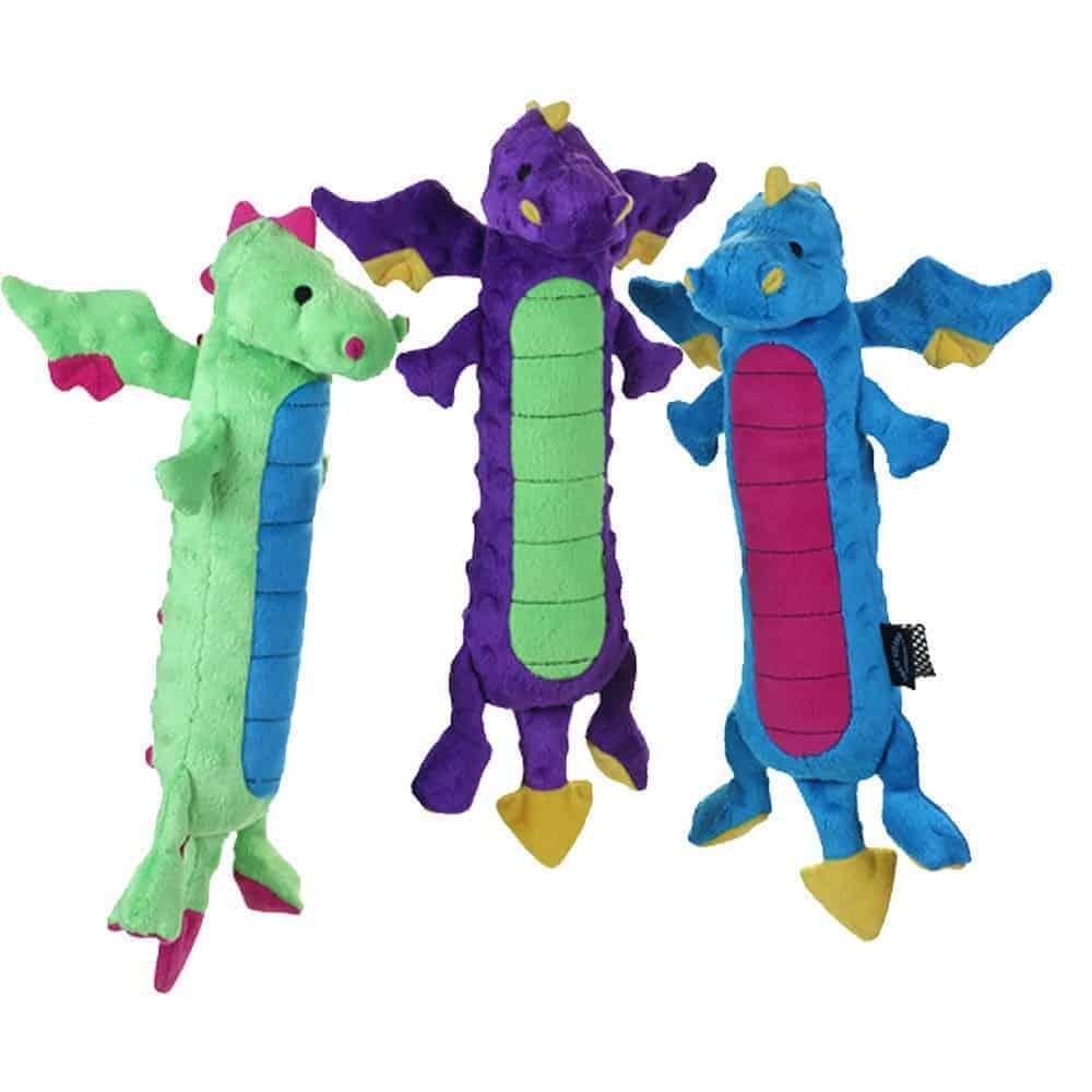 goDog Skinny Dragons Dog Toys