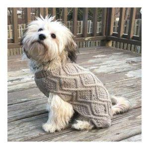 Outdoor Dog Fisherman Sweater