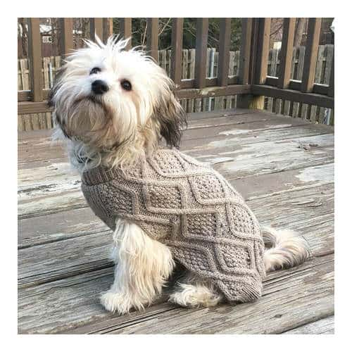Outdoor Dog Fisherman Sweater
