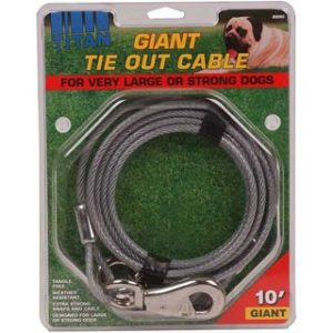 Titan Giant Tie Out Cable